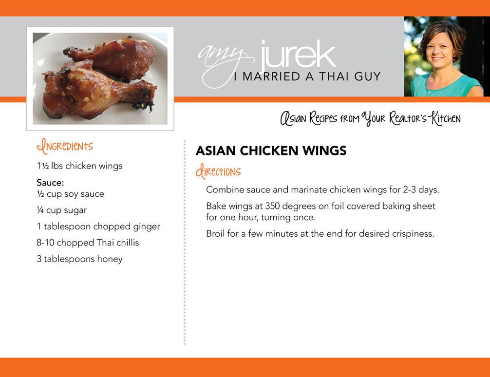 Asian Chicken Wings Recipe