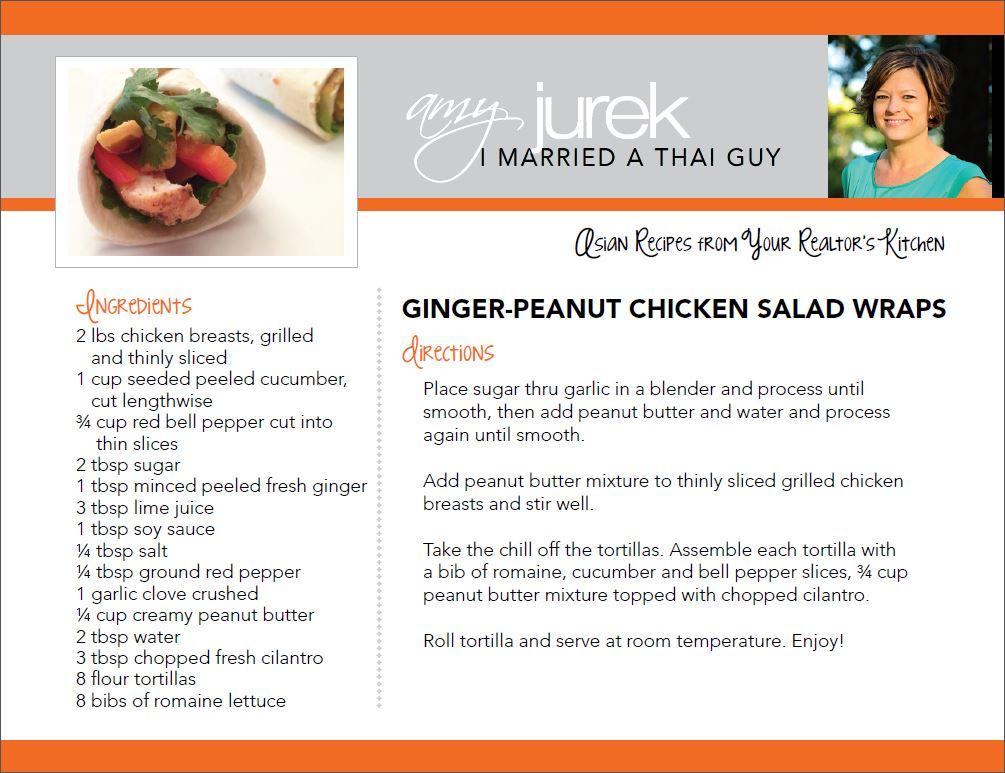 Ginger Peanut Recipe