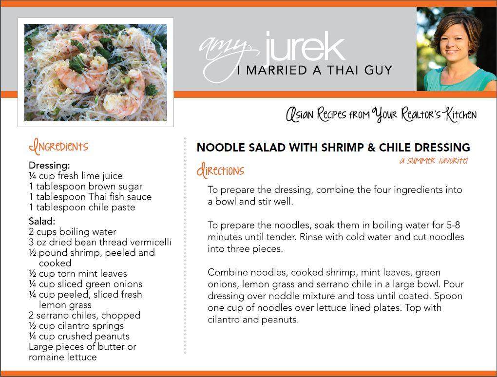 Noodle Salad Recipe
