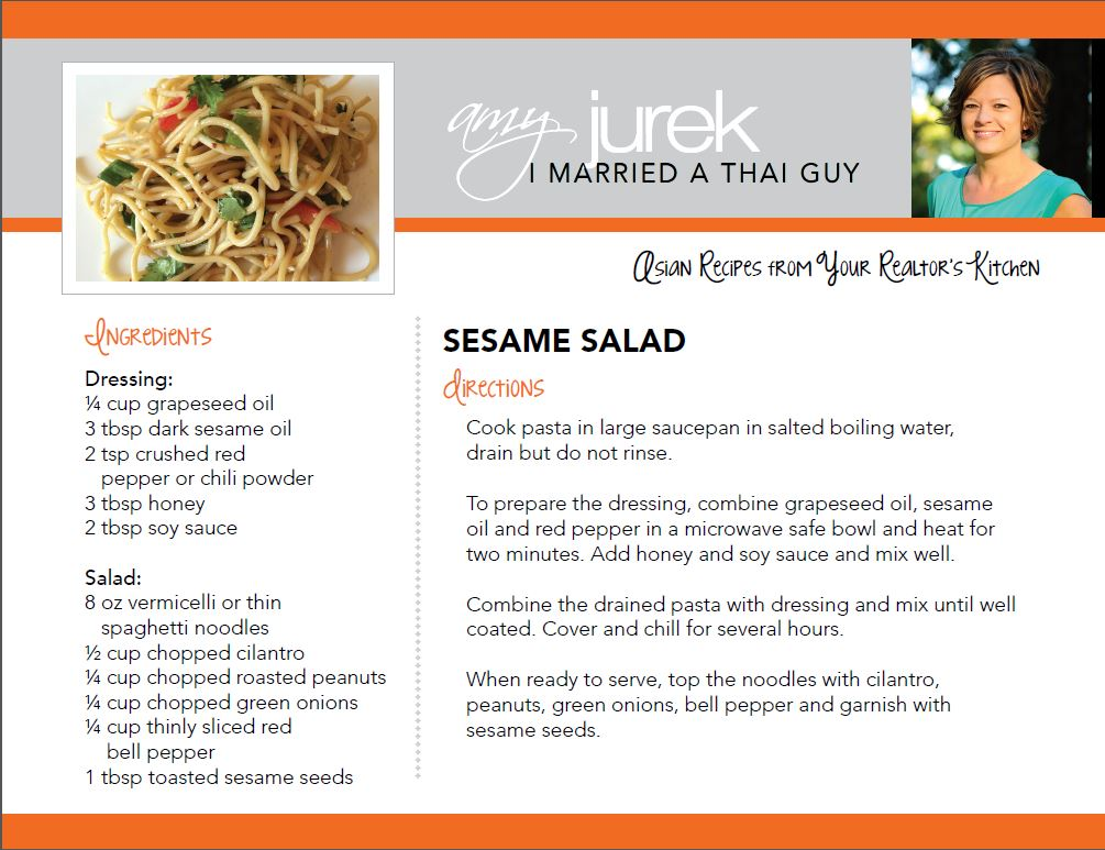 Sesame Salad Recipe