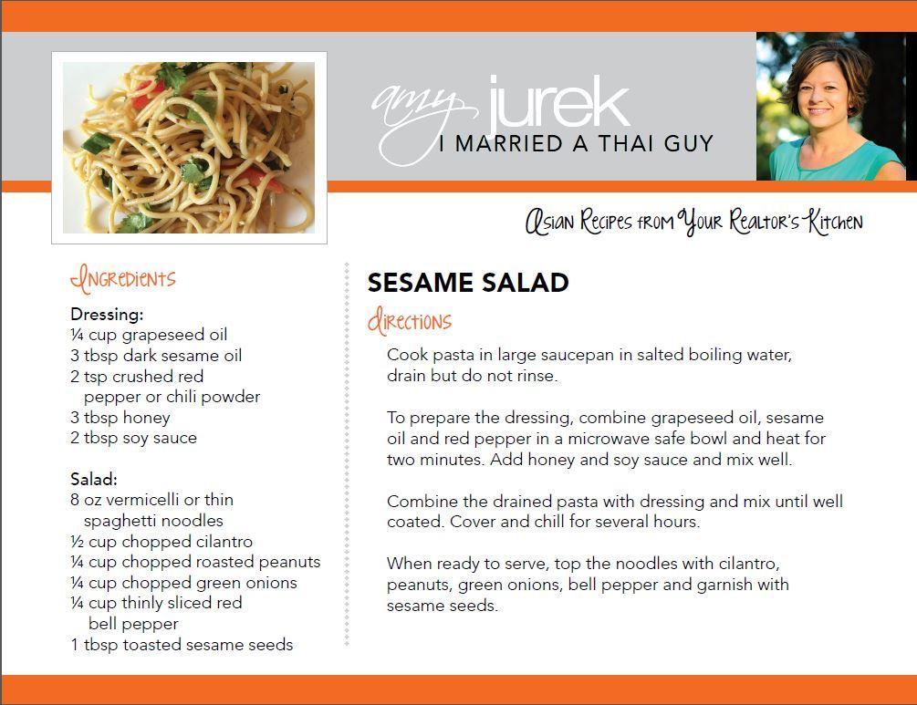 Sesame Salad Recipe