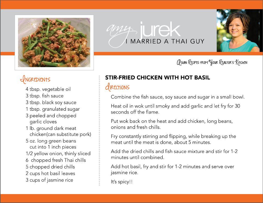 Stir Fry Chicken Recipe